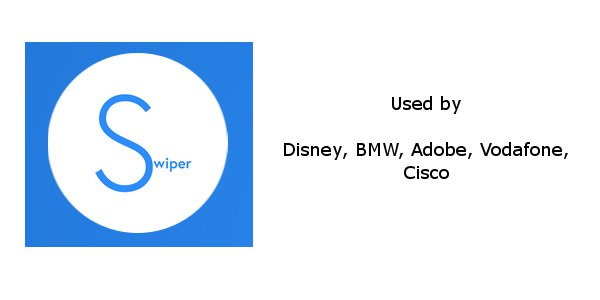 Swiper used by big companies